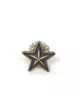 CODY SANDERSON Large Star Stud Pierced Earring