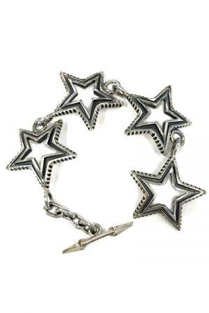 CODY SANDERSON 4 Star Cut Out Bracelet