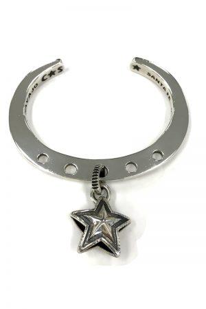 CODY SANDERSON Lucky Charm Bracelet-Star Charm in Center