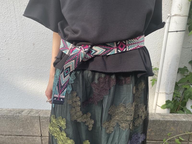 ISABEL MARANT 【40%OFF】総柄刺繍ベルト