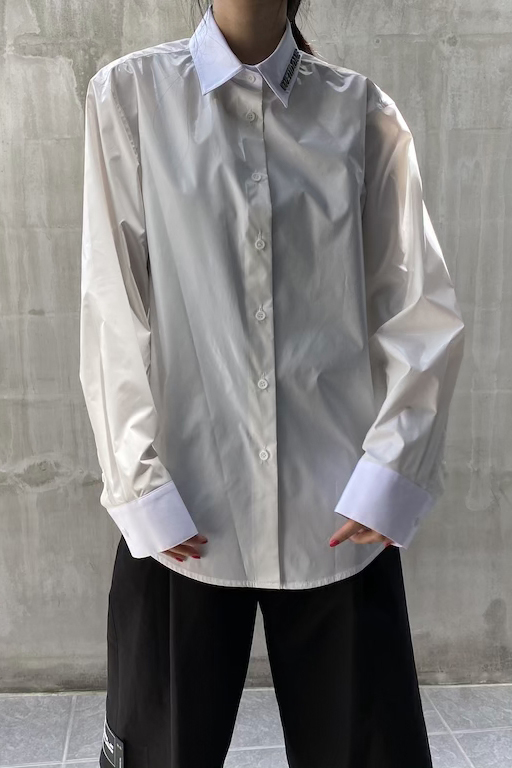 WE11DONE .【40%OFF】グロッシーシャツ