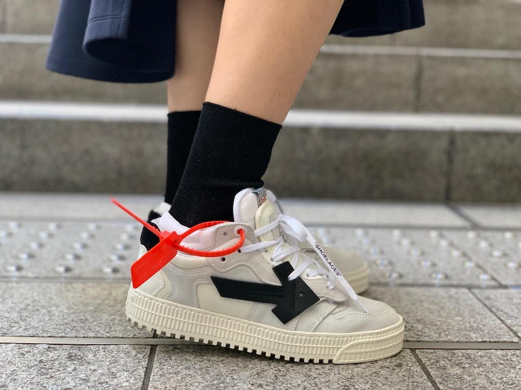 OFF-WHITE 【50%OFF】3.0 LOW スニーカー