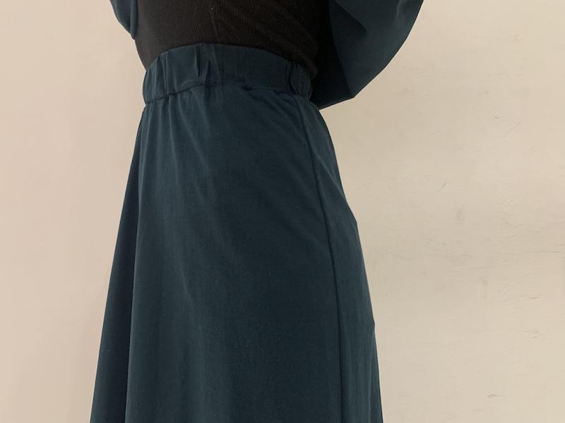 08 SIRCUS クロスジャージーロングスカート [20SS]