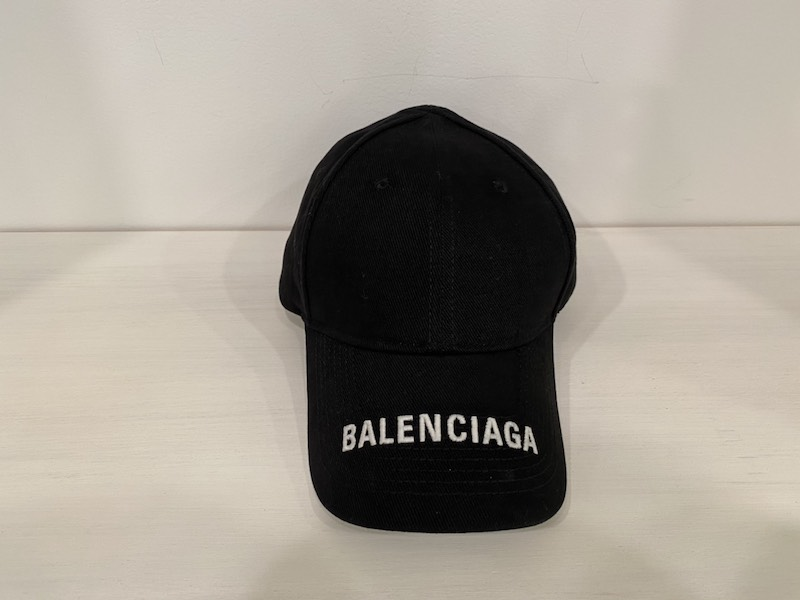 BALENCIAGA ロゴキャップ [20SS]