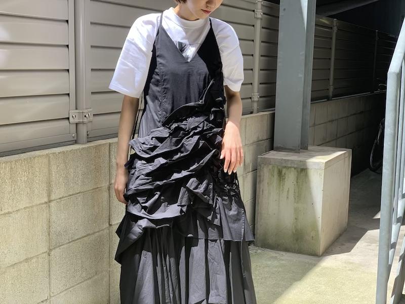 Chika Kisada ギャザースリップワンピース [20SS]