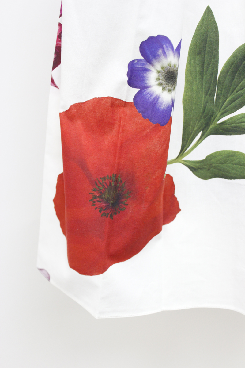 SARA LANZI 【40%OFF】花柄ギャザースカート