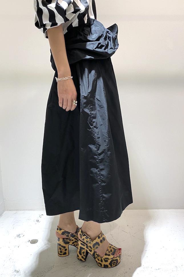DRIES VAN NOTEN ウエストリボンスカート [20SS]