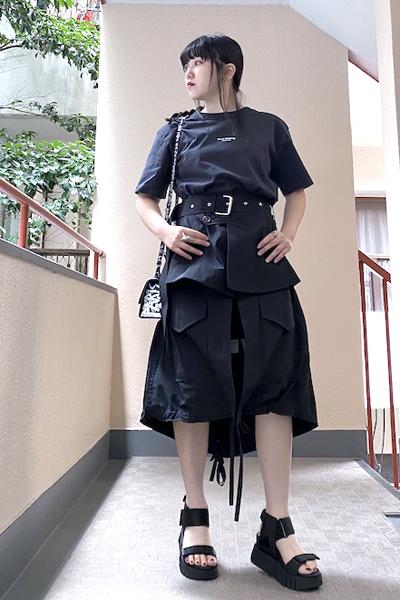 PLAN C 【40%OFF】ベルト付スカート [20SS]