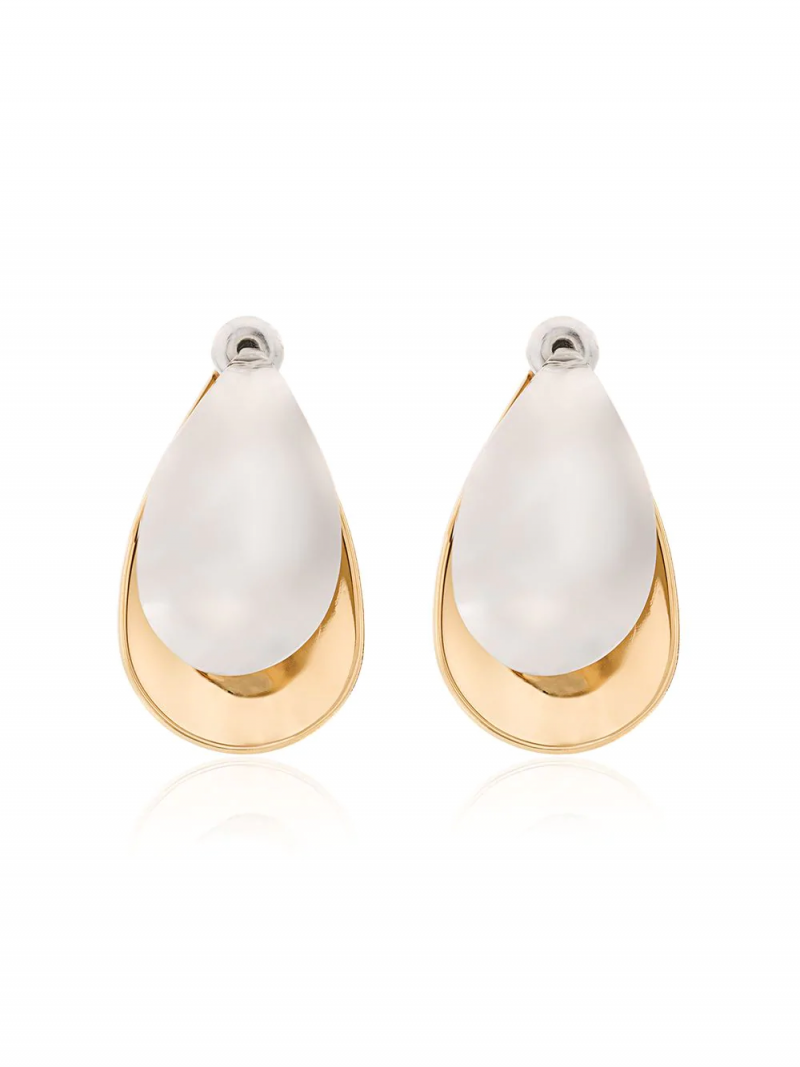 Charlotte Chesnais MINI PETAL EARRINGS