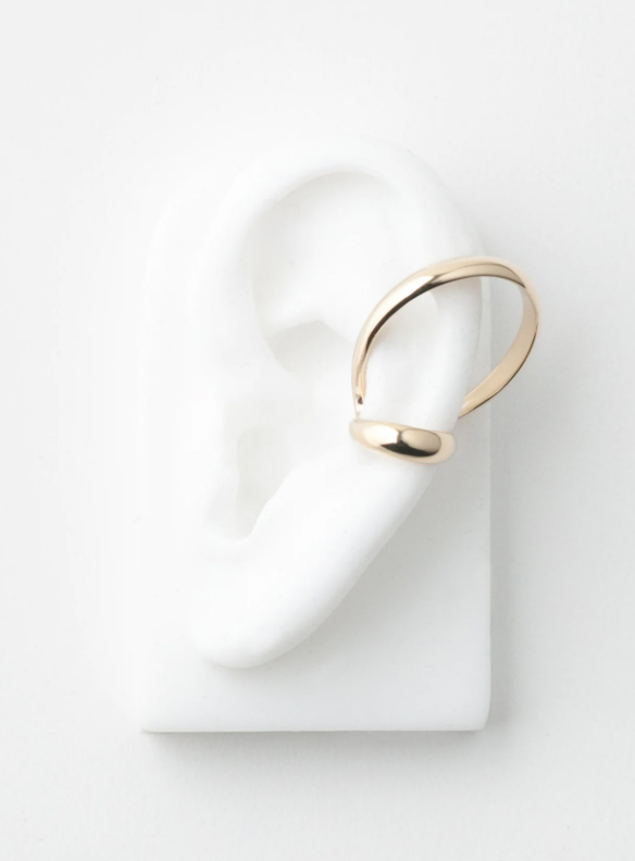 SASAI jewelry Echo Hoop Ear Cuff