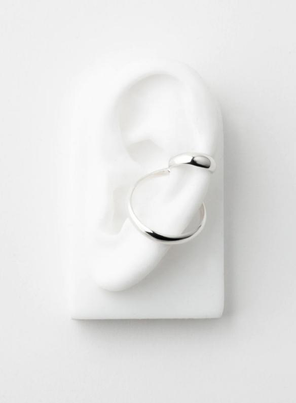 SASAI jewelry Echo Hoop Ear Cuff
