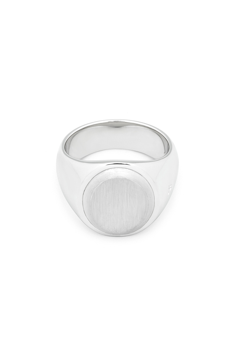 TOM WOOD Oval Silver Top