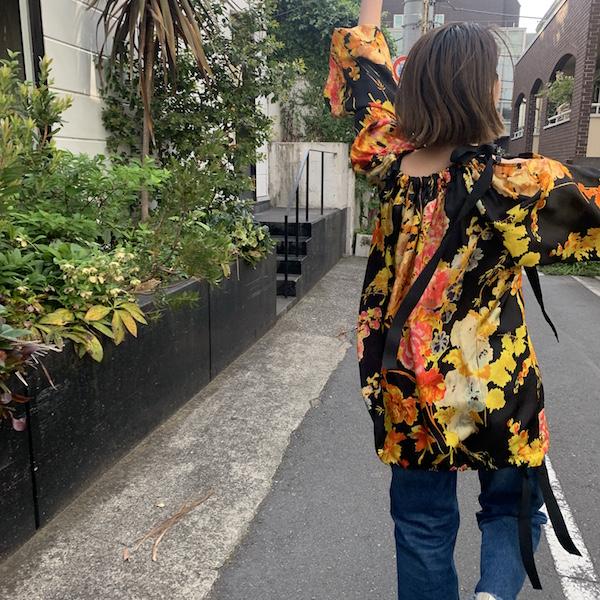 DRIESの花柄〜!