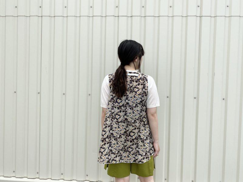 STELLA McCARTNEY 【40%OFF】花柄×ニット切替トップス【20SS】