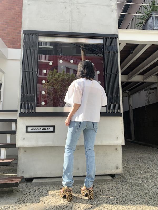 Merlette 【40%OFF】フロントタック半袖ブラウス【20SS】