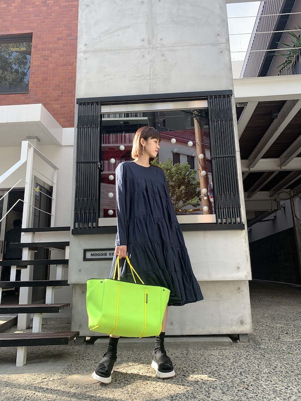 Merlette 【40%OFF】長袖ティアードワンピース【20SS】