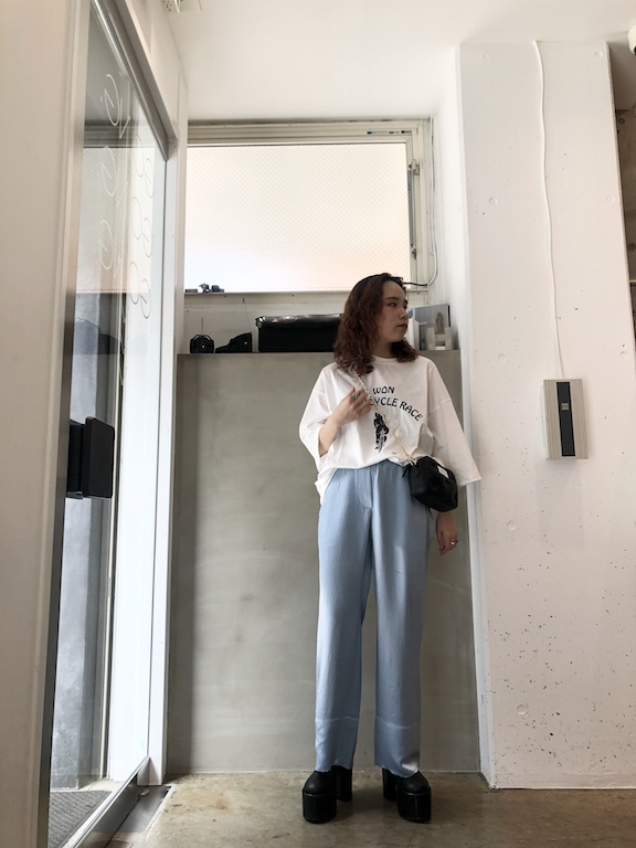 Acne Studios 【50%OFF】サテンロングパンツ