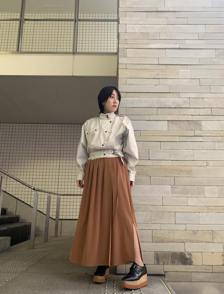 08 SIRCUS 【40%OFF】ラップスカート【20SS】
