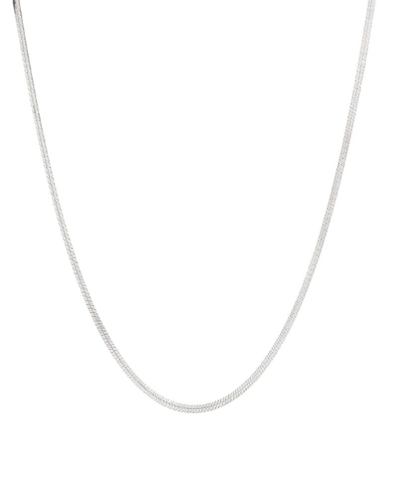 TOM WOOD Herringbone Chain Necklace