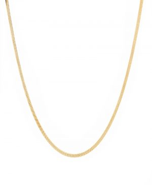 TOM WOOD Herringbone Chain Necklace