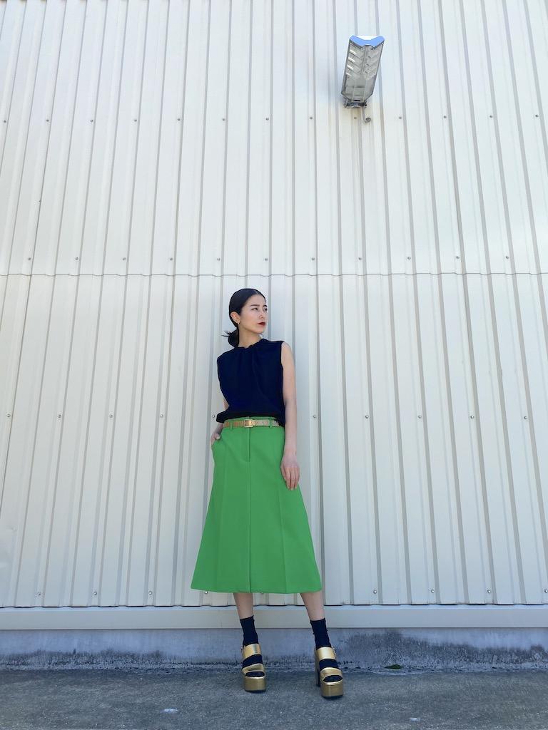 MARNI 【40%OFF】ギャザーネックノースリーブトップス【20SS】