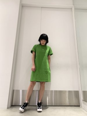 Acne Studios 【30%OFF】ロゴTシャツワンピース【20SS】