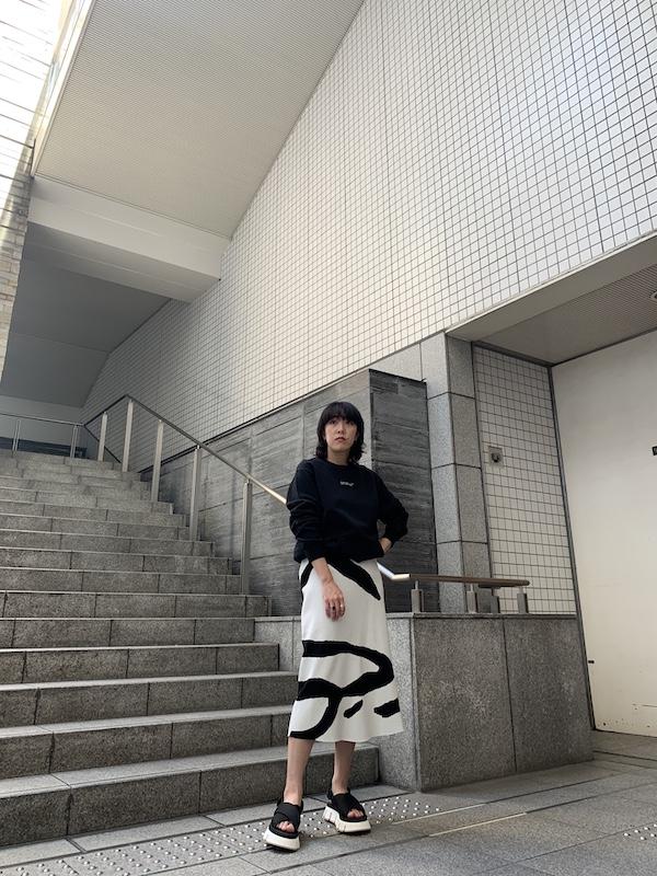 Christian Wijnants 【40%OFF】ゼブラ柄ニットスカート【20SS】