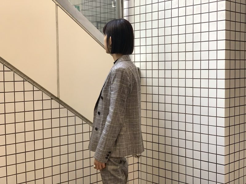 ISABEL MARANT 【40%OFF】チェックダブルジャケット【20SS】