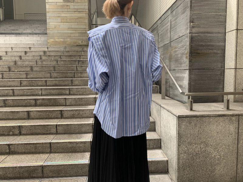 ISABEL MARANT ピンストライプシャツ [20AW]