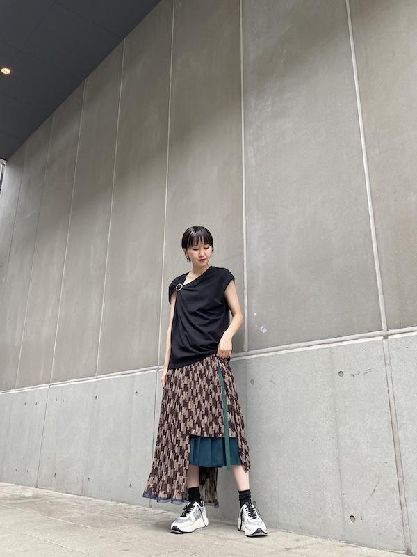 3.1 PHILLIP LIM 【40%OFF】ショルダーギャザーリングトップス
