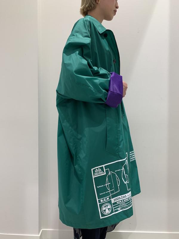 Kolor BEACON 【40%OFF】ステンカラーナイロンコート