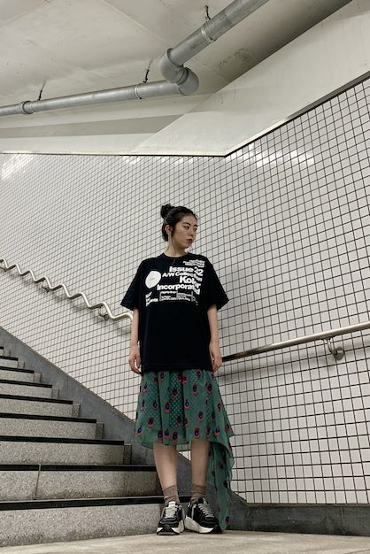 kolor ロゴプリントTシャツ 【20AW】