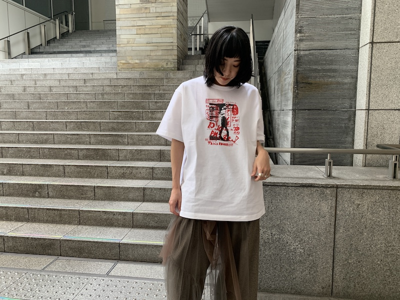 kolor 東京カラーTシャツ 【20AW】