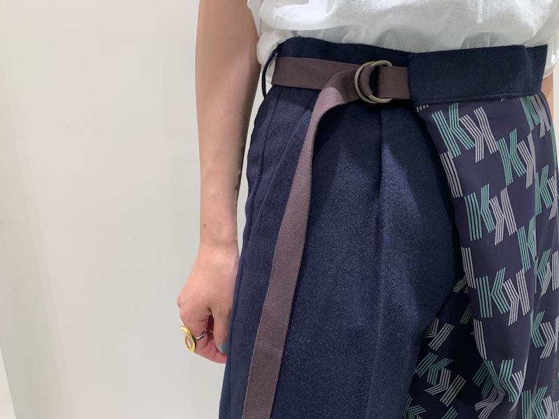 kolor 【40%OFF】レイヤードラップパンツ