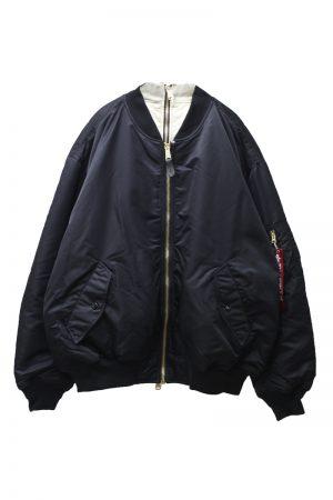 VETEMENTS ダブルジッパーボンバージャケット【20AW】