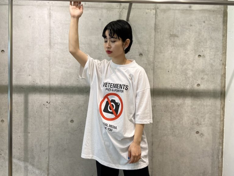 VETEMENTS 【40%OFF】ANTISOCIAL Tシャツ