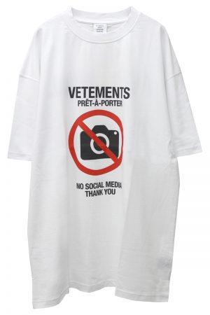 VETEMENTS ANTISOCIAL Tシャツ 【20AW】