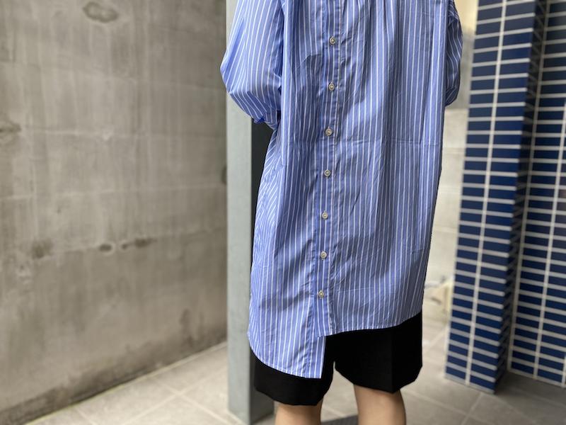 rokh ニュースラッシュシャツ【20AW】