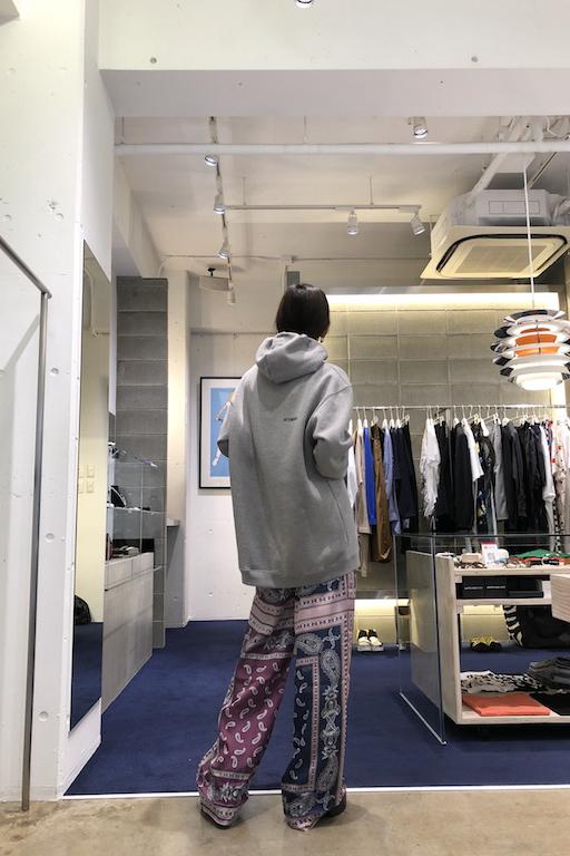 rokh ロングトラウザー【20AW】