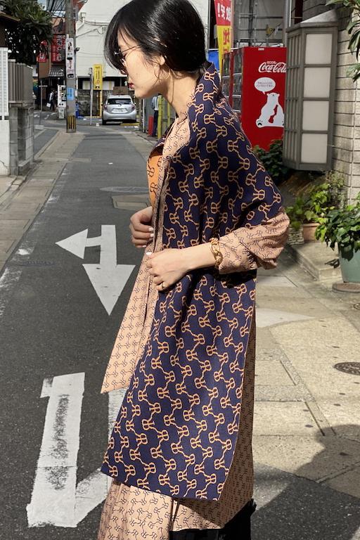 rokh ジャガード ニットスカーフ【20AW】