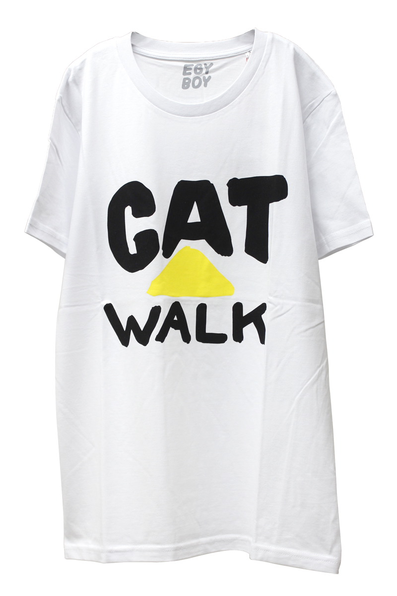 EGY BOY CAT WALK Tシャツ  [20AW]