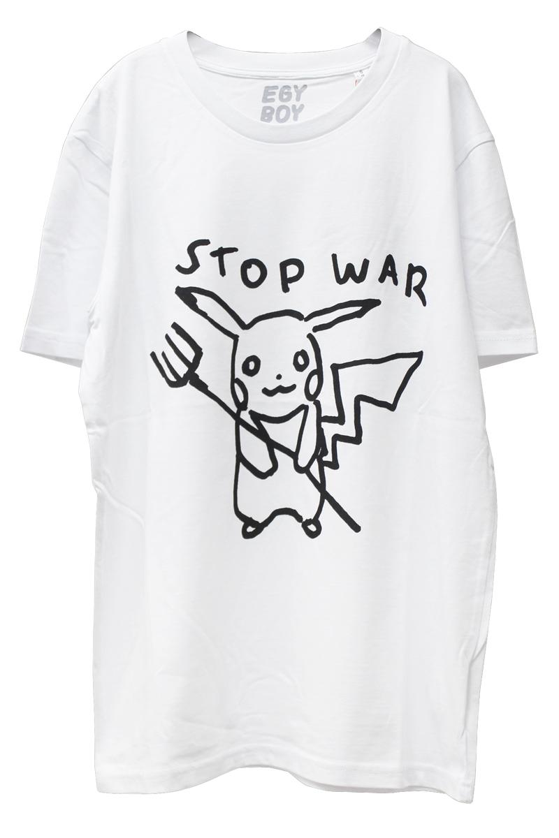 EGY BOY STOP WAR Tシャツ