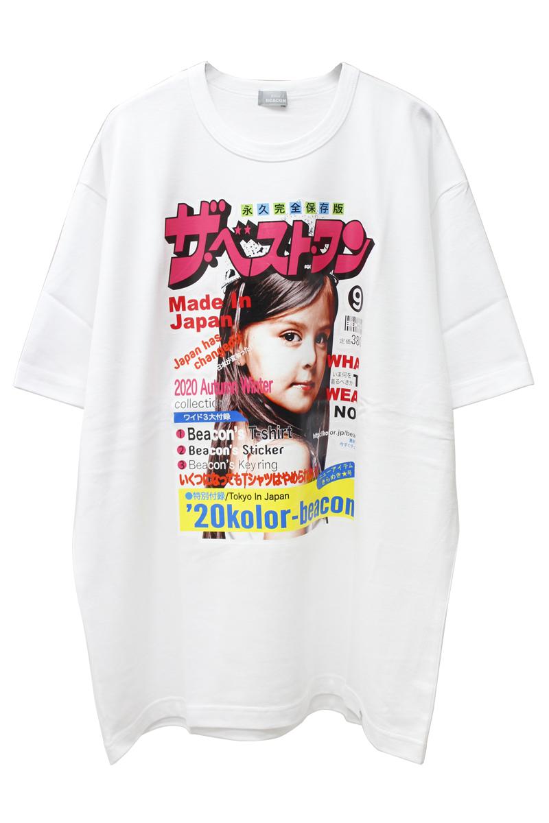 kolor ベストワンTシャツ [20AW]