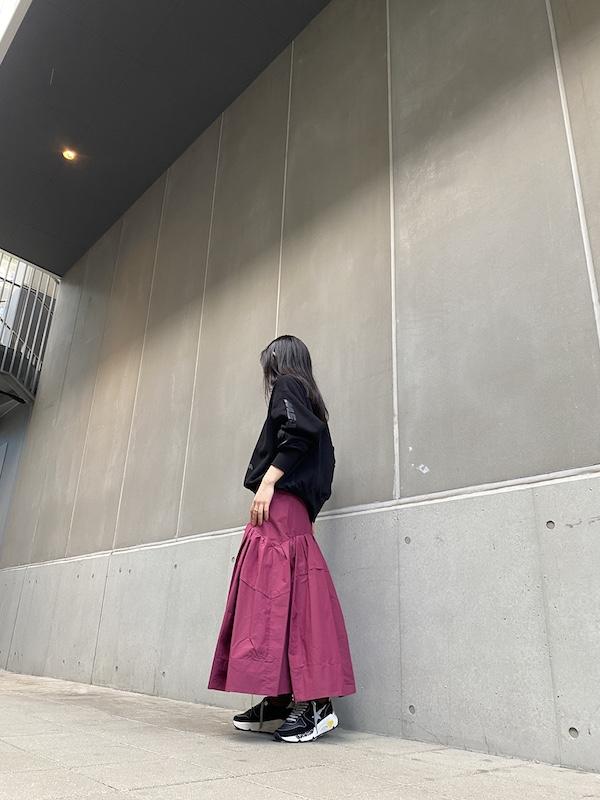 3.1 PHILLIP LIM ギャザーフレアスカート