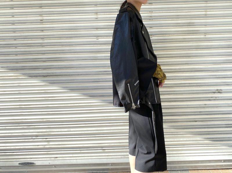 MAISON MARGIELA 切換ライダースポンチョ【20AW】