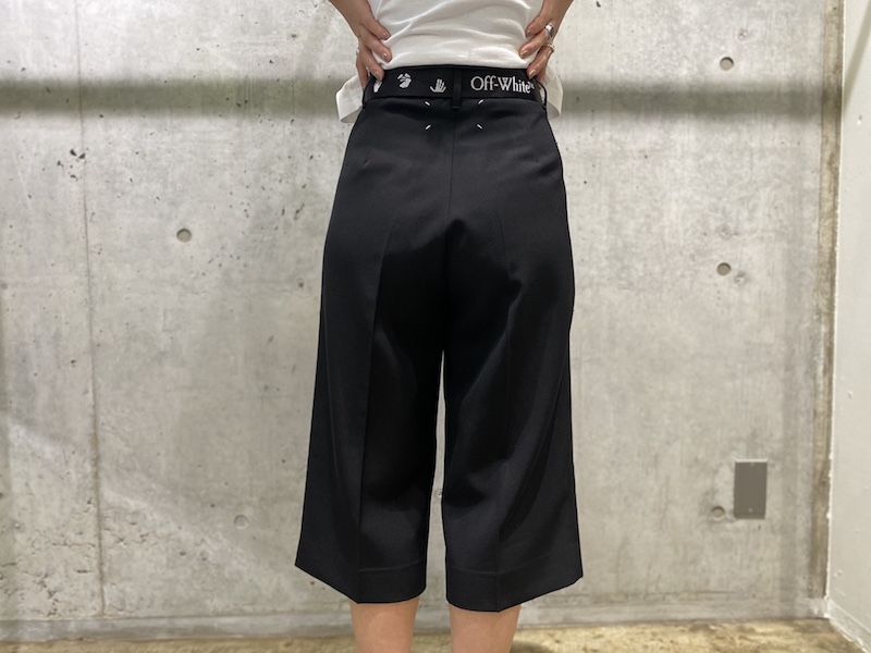 MAISON MARGIELA 【BLACK FRIDAY】ストレートキュロット【20AW】