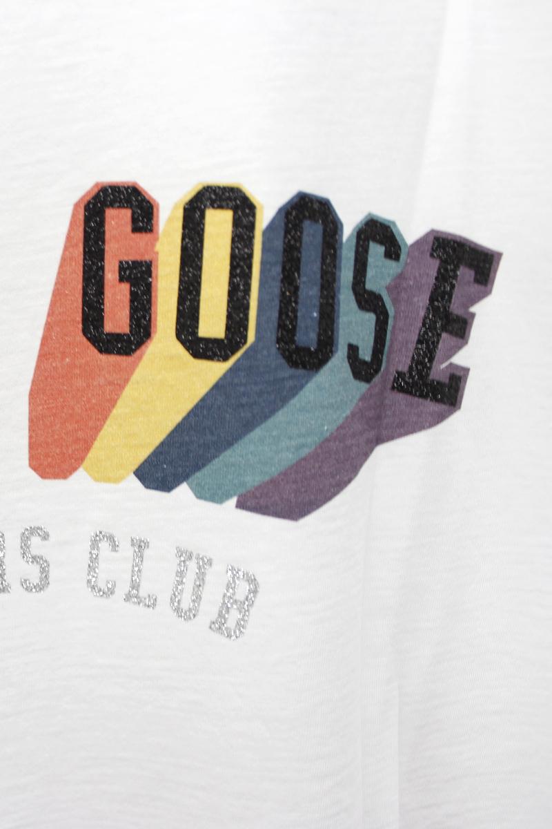 GOLDEN GOOSE DELUXE BRAND RAINBOWロゴTシャツ【20SS】