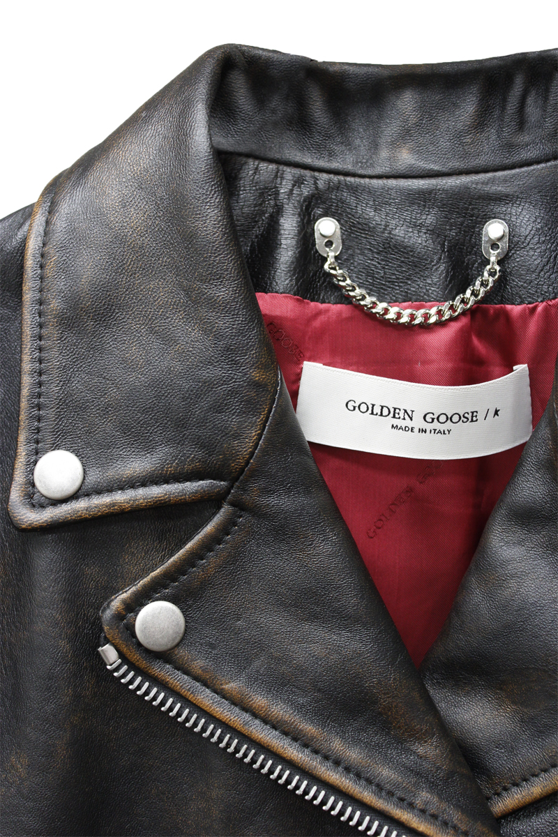 GOLDEN GOOSE DELUXE BRAND 【40%OFF】ライダースジャケット
