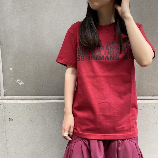 JOHN LAWRENCE SULLIVAN ロゴプリントTシャツ【20AW】