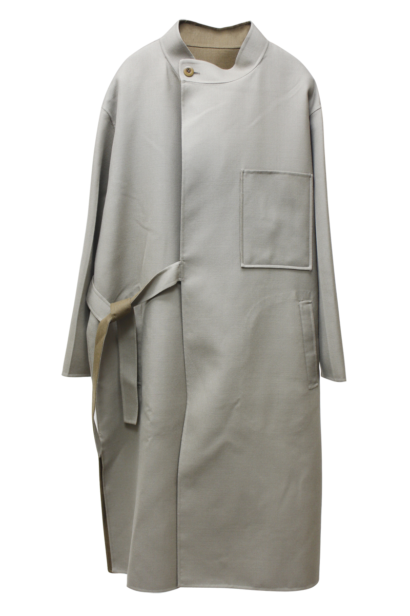 08 SIRCUS Double face rever コート【20AW】